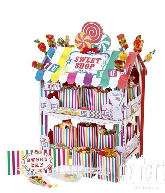 Kit puesto sweets multicolor