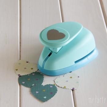 Troqueladora Corazón Festoneado 5 cms