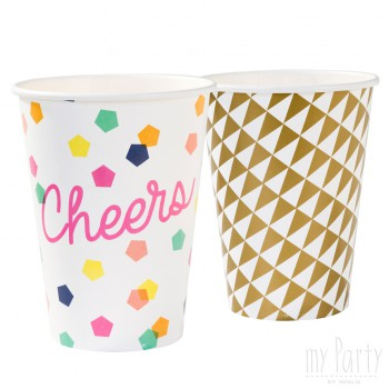 Mesa-Vasos-Fiesta-Cumpleaños