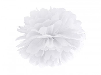 pompom blanco