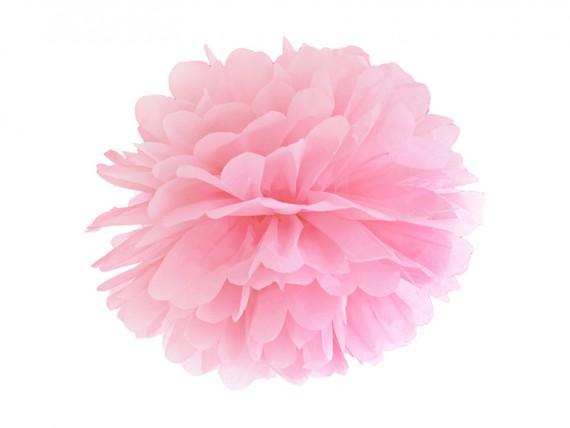 pompom rosa