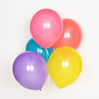 globos multicolor