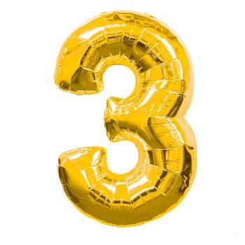 globo-de-foil-dorado-numero-3