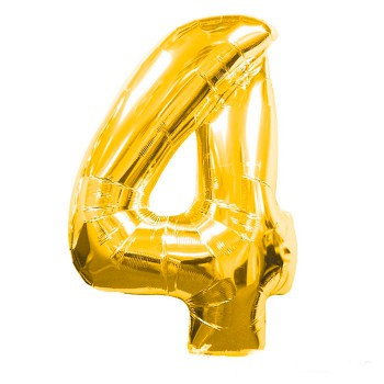 globo-de-foil-dorado-numero-4