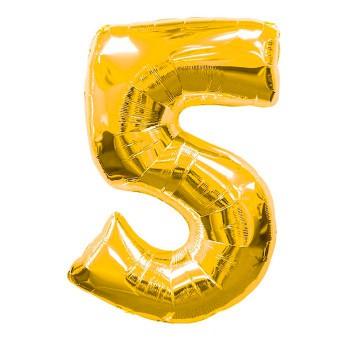 globo-de-foil-dorado-numero-5
