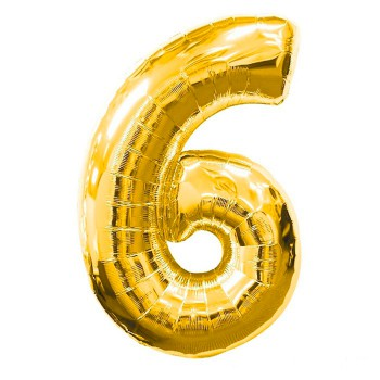 globo-de-foil-dorado-numero-6