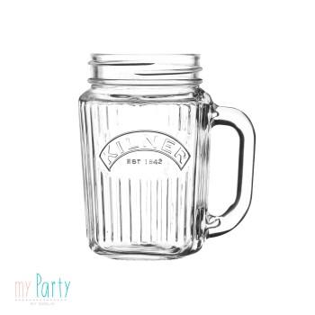 jarra de cristal vintage