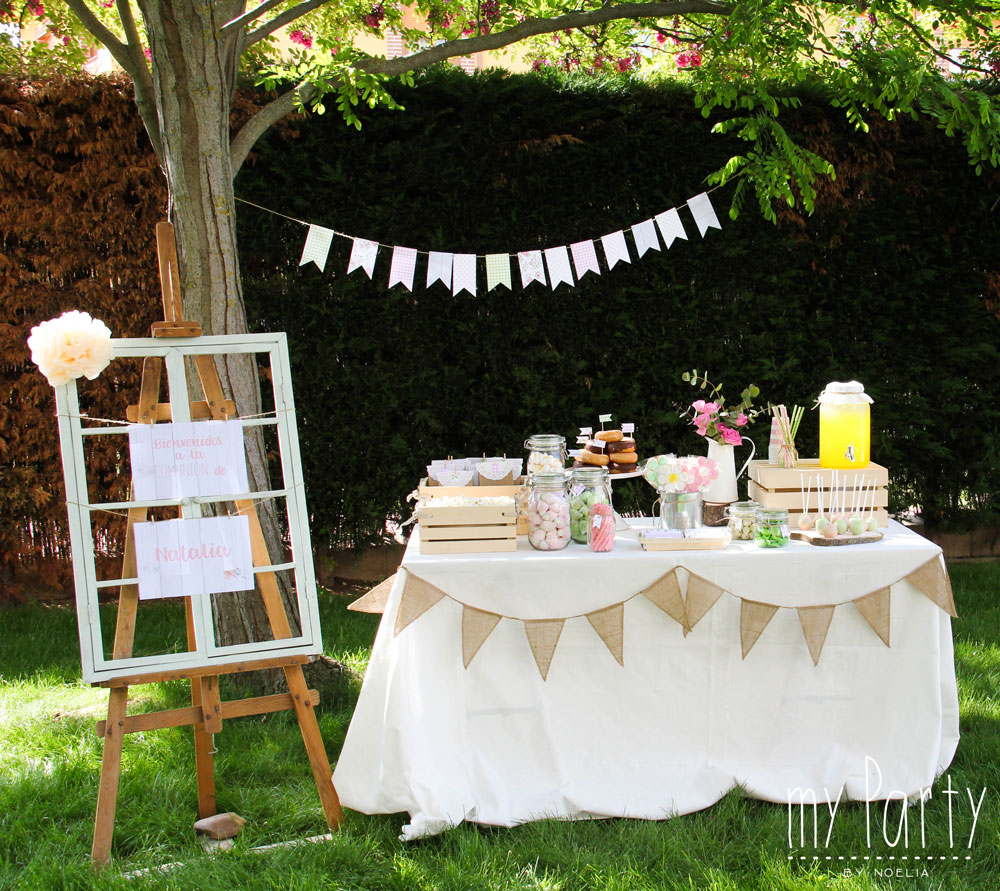 Blog i ideas de decoraci n my party by noelia for Decoraciones rusticas para patios