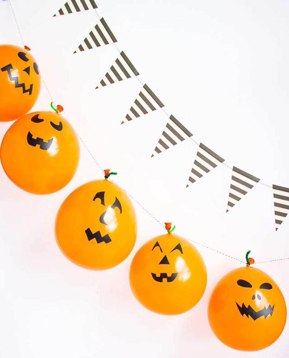 DIY Globos Halloween