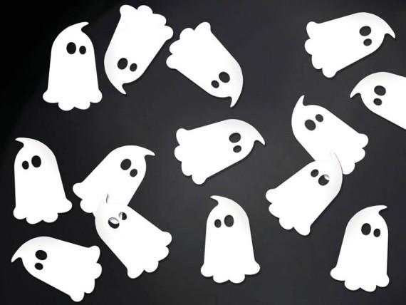 confeti fantasma BOO