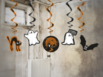 decoraciones colgantes de Halloween