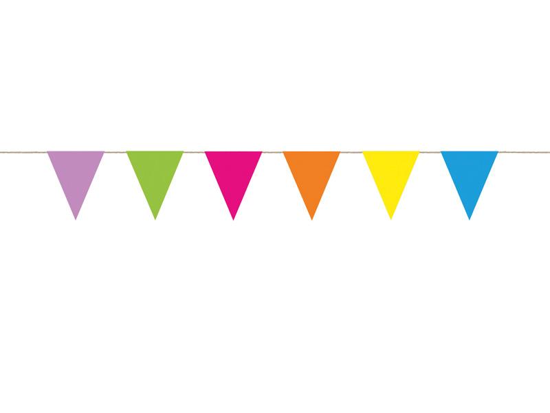 Banderines de papel colores   My Party by Noelia