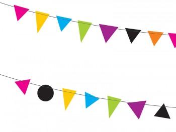 banderines de papel