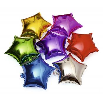 globos metalicos estrellas