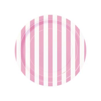 plato-rayas-rosa