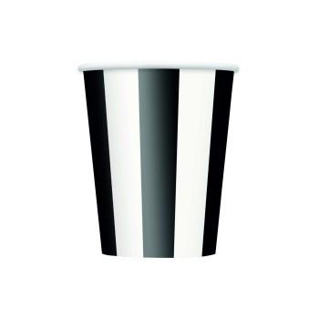 vaso rayas negras