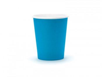 vaso de papel azulon