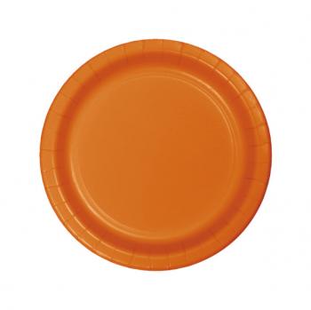 plato-naranja